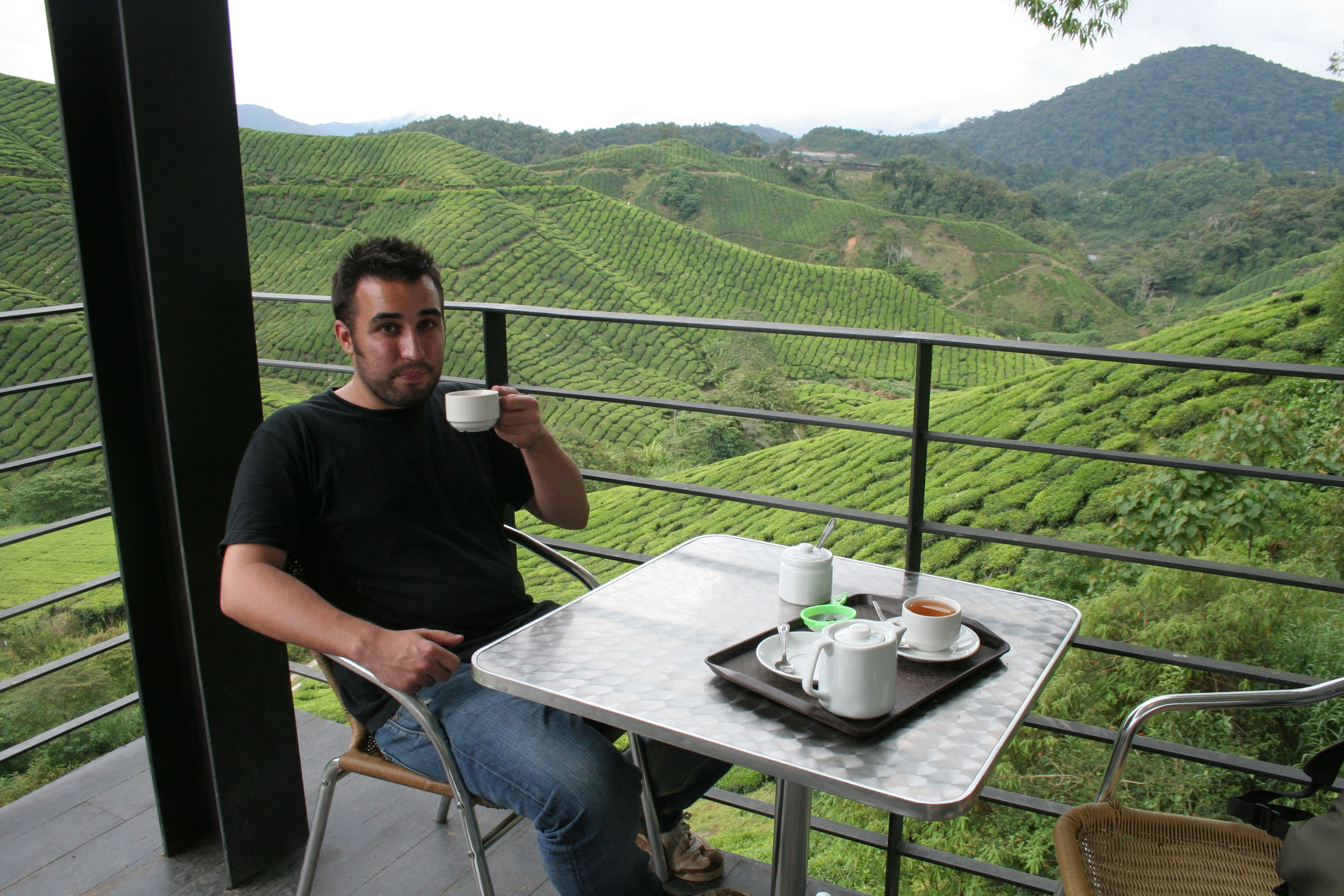 Tony Gebely Boh Tea Plantation Cafe in Cameron Highlands, Malaysia