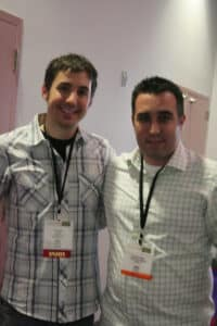 Kevin Rose and Tony Gebely