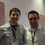 At tea expo with Kevin Rose