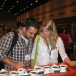 Katie and I at World Tea Expo East 2011