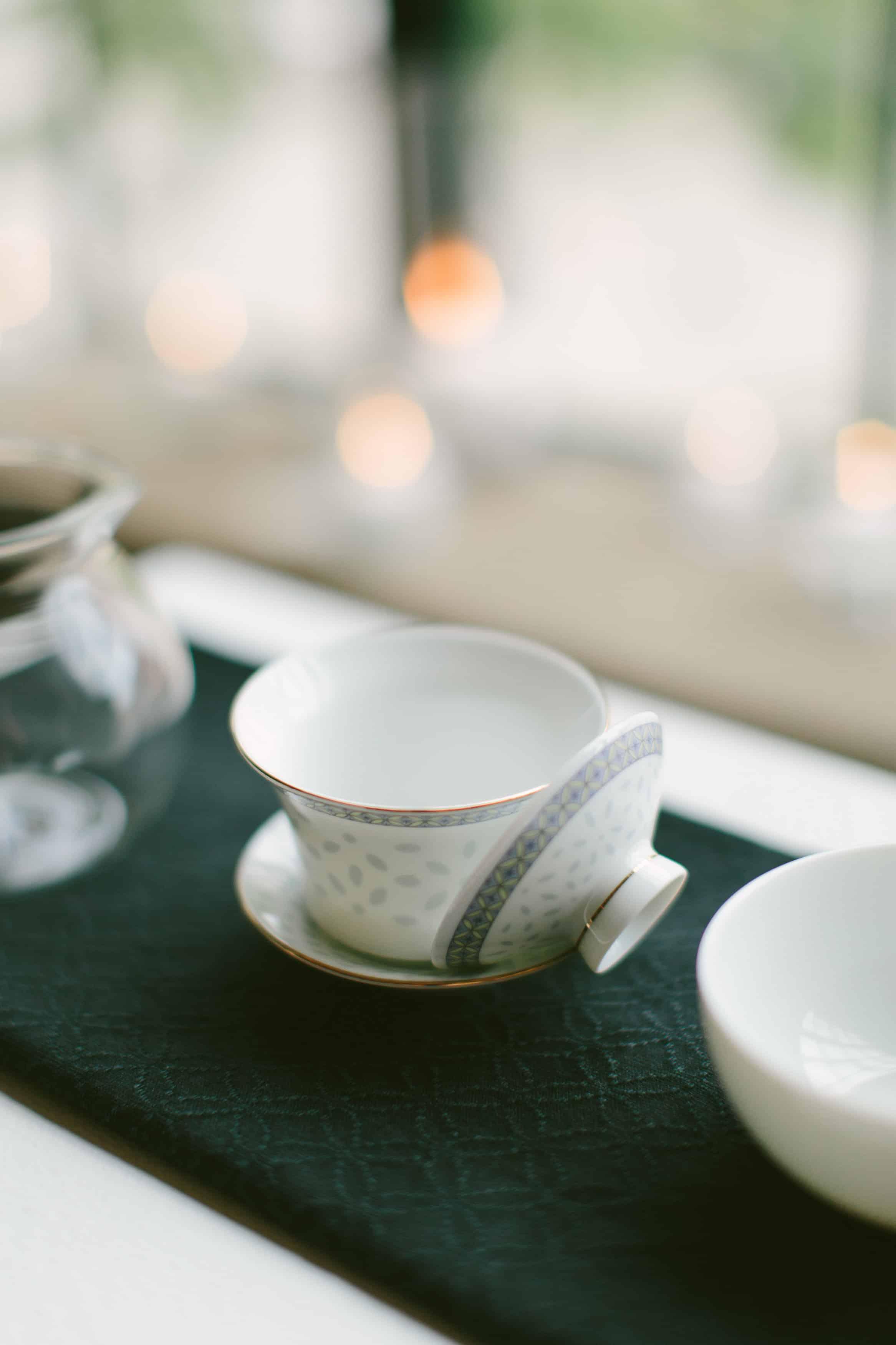 The wedding tea ware