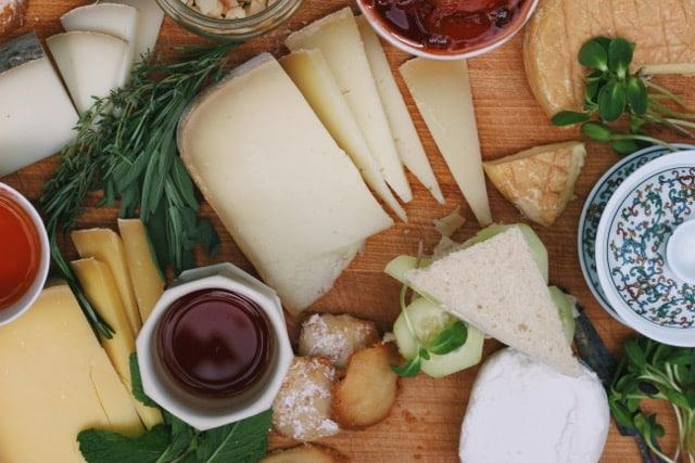 tea and cheese soiree