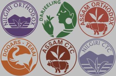 Tea Logos from India