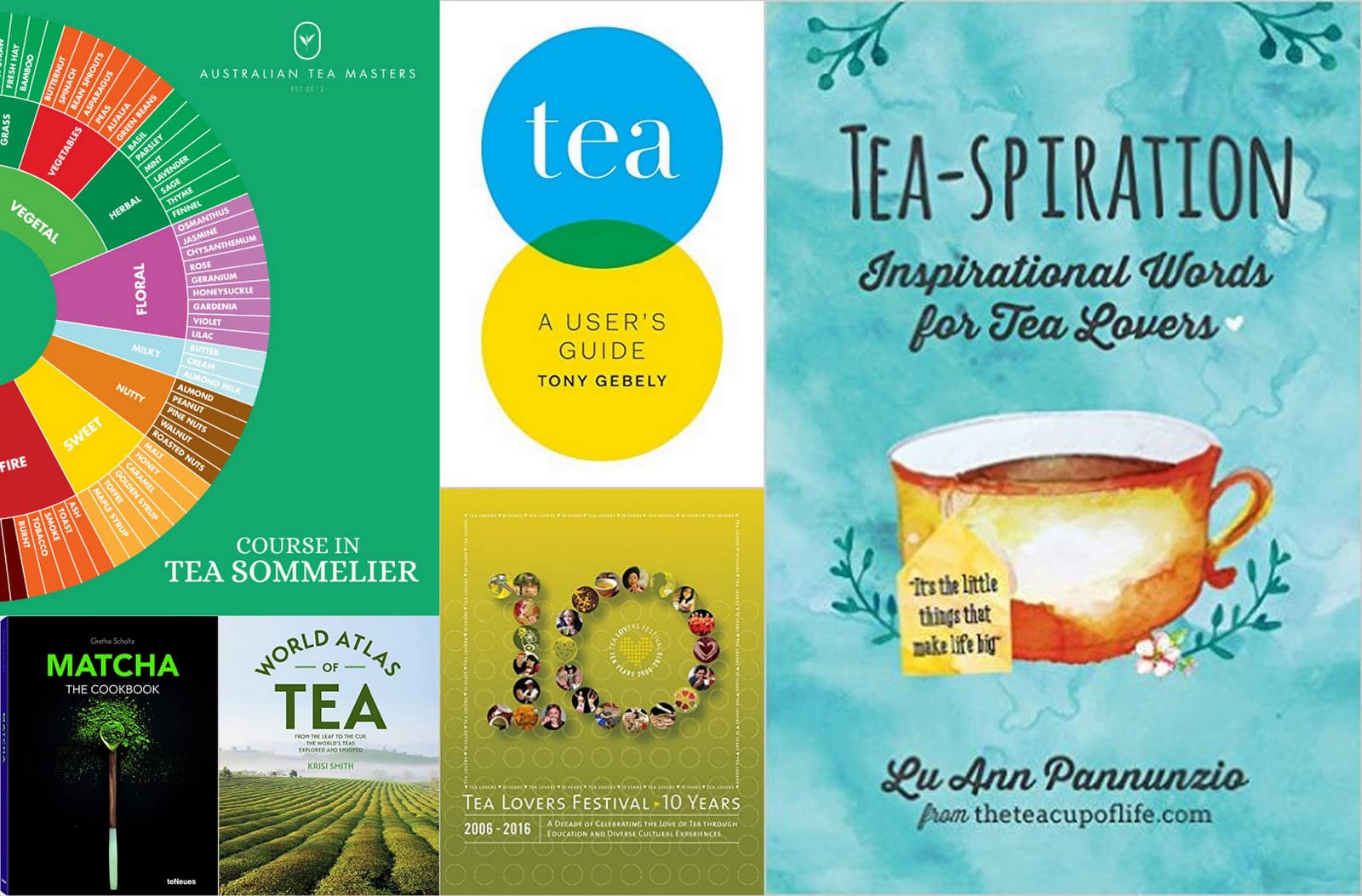 2016 tea book roundup