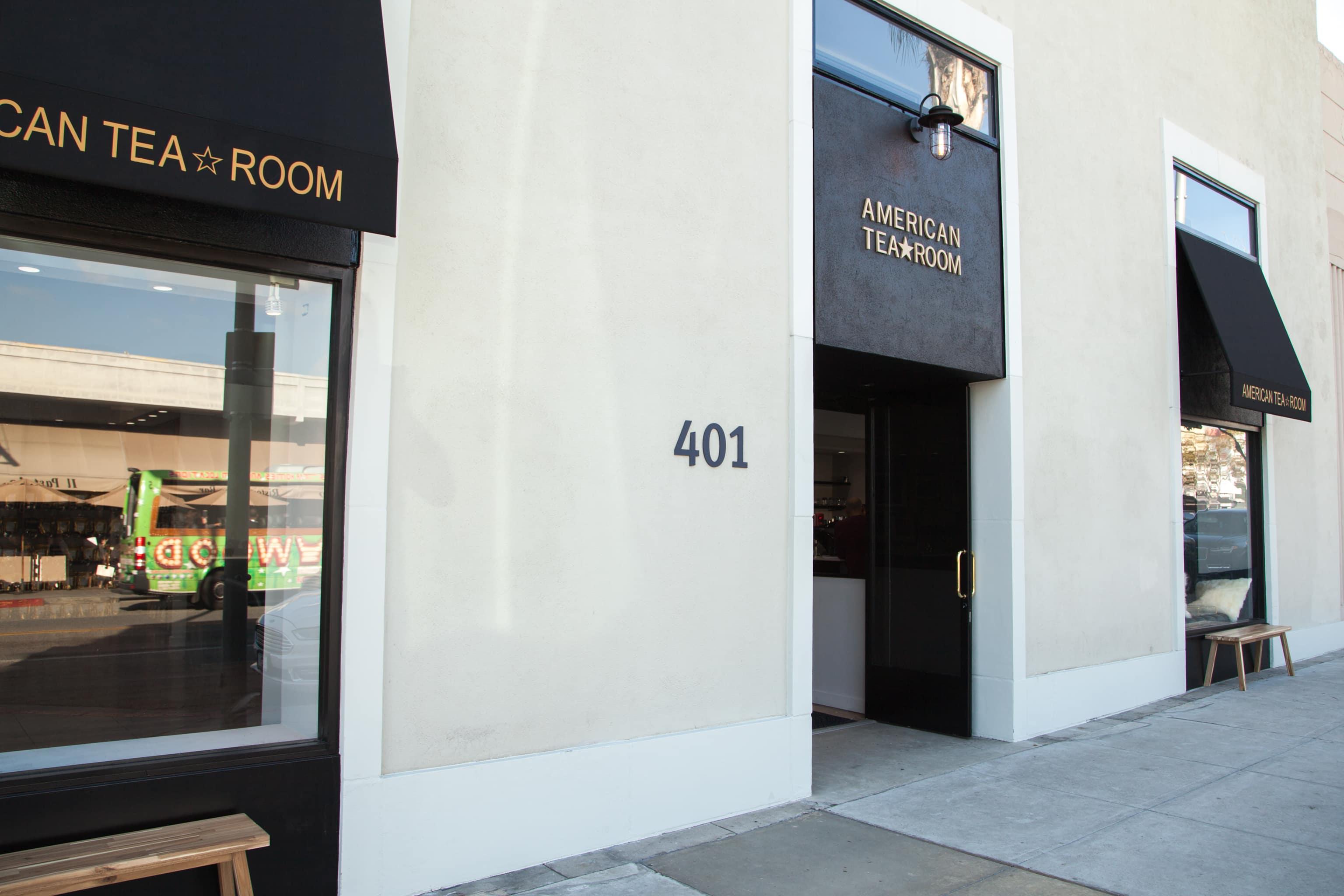 American Tea Room Beverly Hills Exterior Shot