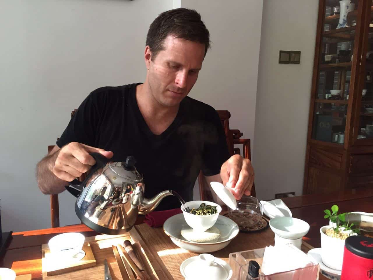 Jeff Kovac of Four Seasons Tea