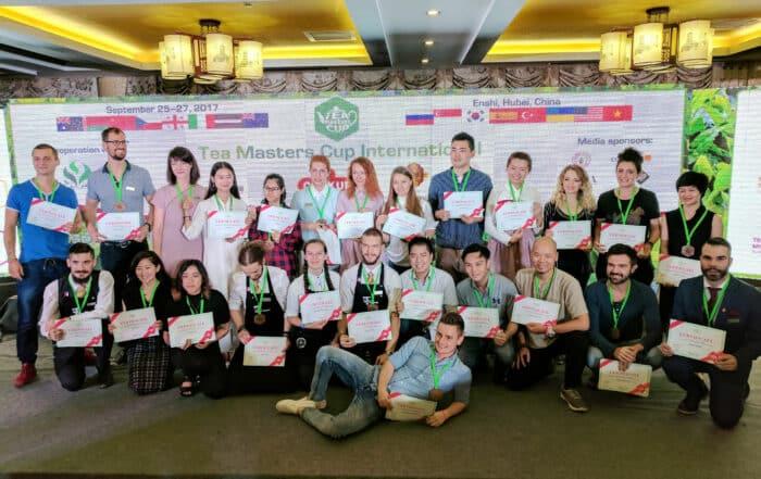 Tea Master's Cup Finals 2017 in Enshi, Hubei China