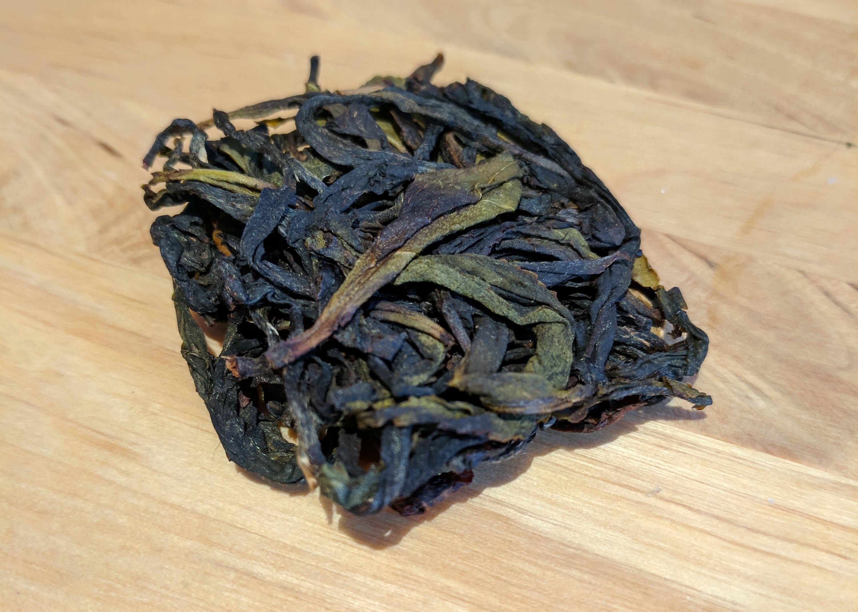 Zhang Pin Shui Xian Artisan Sri Lankan Tea