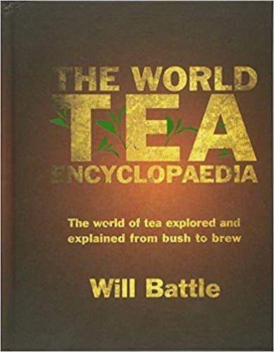 Tea Book by Will Battle
