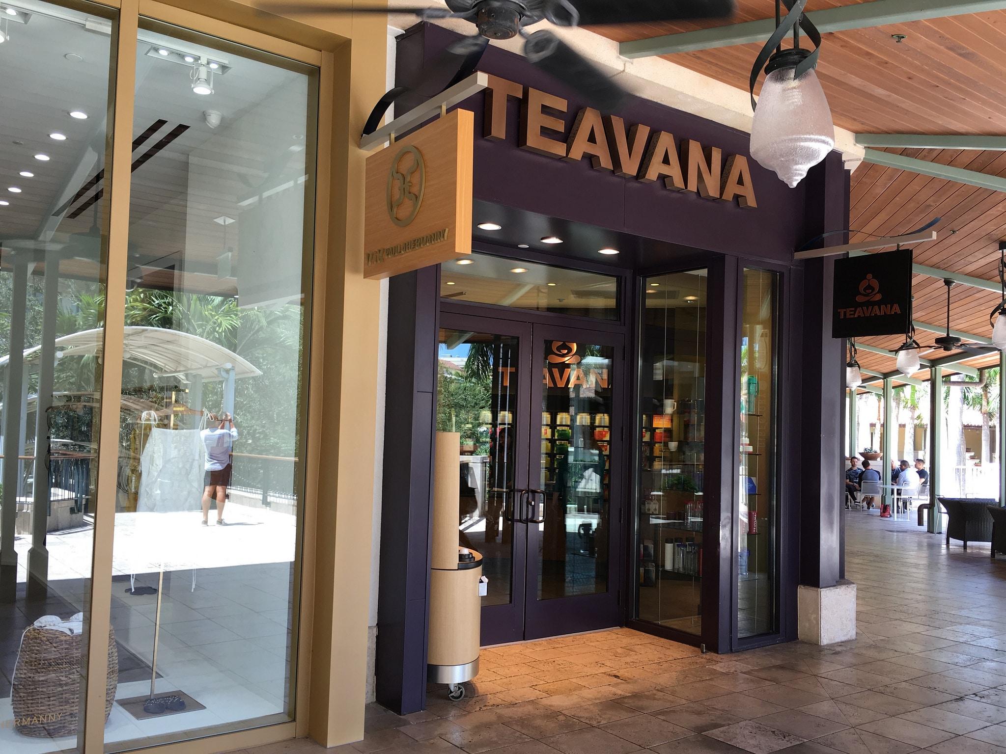 Teavana Storefront